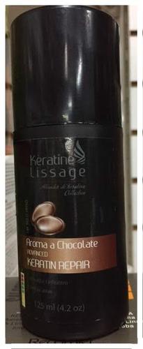 keratina lissage   de  chocolate  para  cabello dañado