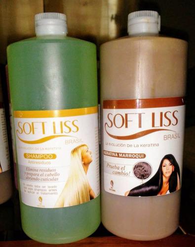 keratina marroqui original soft liss