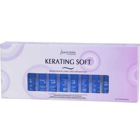 kerating soft  lanosterin caja de 24 ampollas de 13 ml