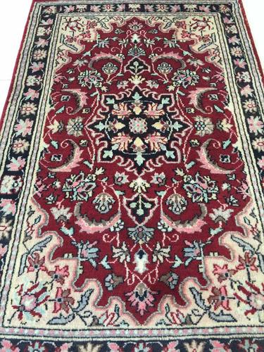 kermansha fino 127x79cm artesanal tapete persa +certificado