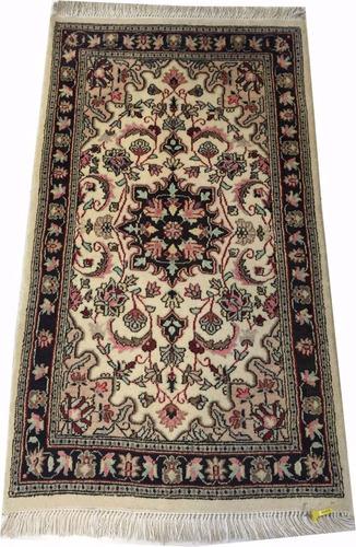 kermansha fino 135x79cm artesanal tapete persa +certificado