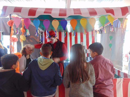 kermesse-circo-burbujas gigantes-animaciones acept. tarjetas