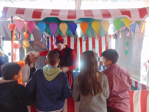 kermesse-circo-pochoclera-copos de azucar-aceptamos tarjetas
