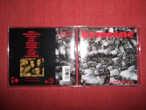 kerosene - arrhythmia cd usa ed 1993 mdisk