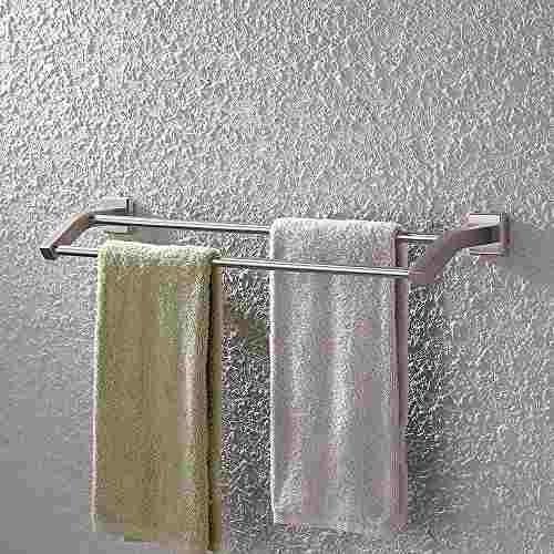 kes a2202-2 cuarto de baño lavabo doble toallero pared,