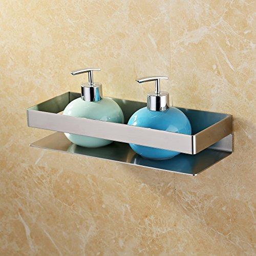 kes - estante baño, acero inoxidable, baño ducha estante c