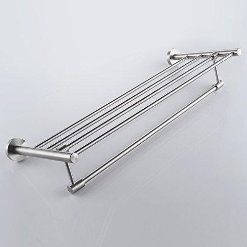 kes sus 304 estantes de la toalla de baño del estante con p