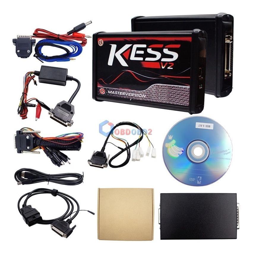 Kess V2 V2 47 +ktag 7 020 Placa Vermelha