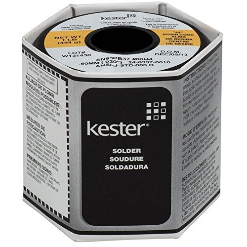 kester 24-6337-0010 44 de rosin núcleo soldadura 63/37 0.02