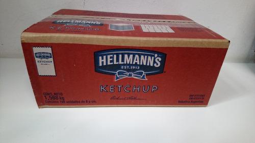 ketchup invidual hellmans x 196 u