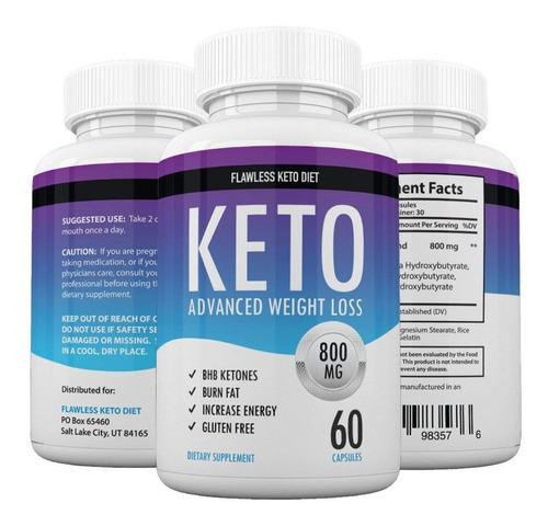 keto advance 60 capsulas + dieta cetogenica importado usa