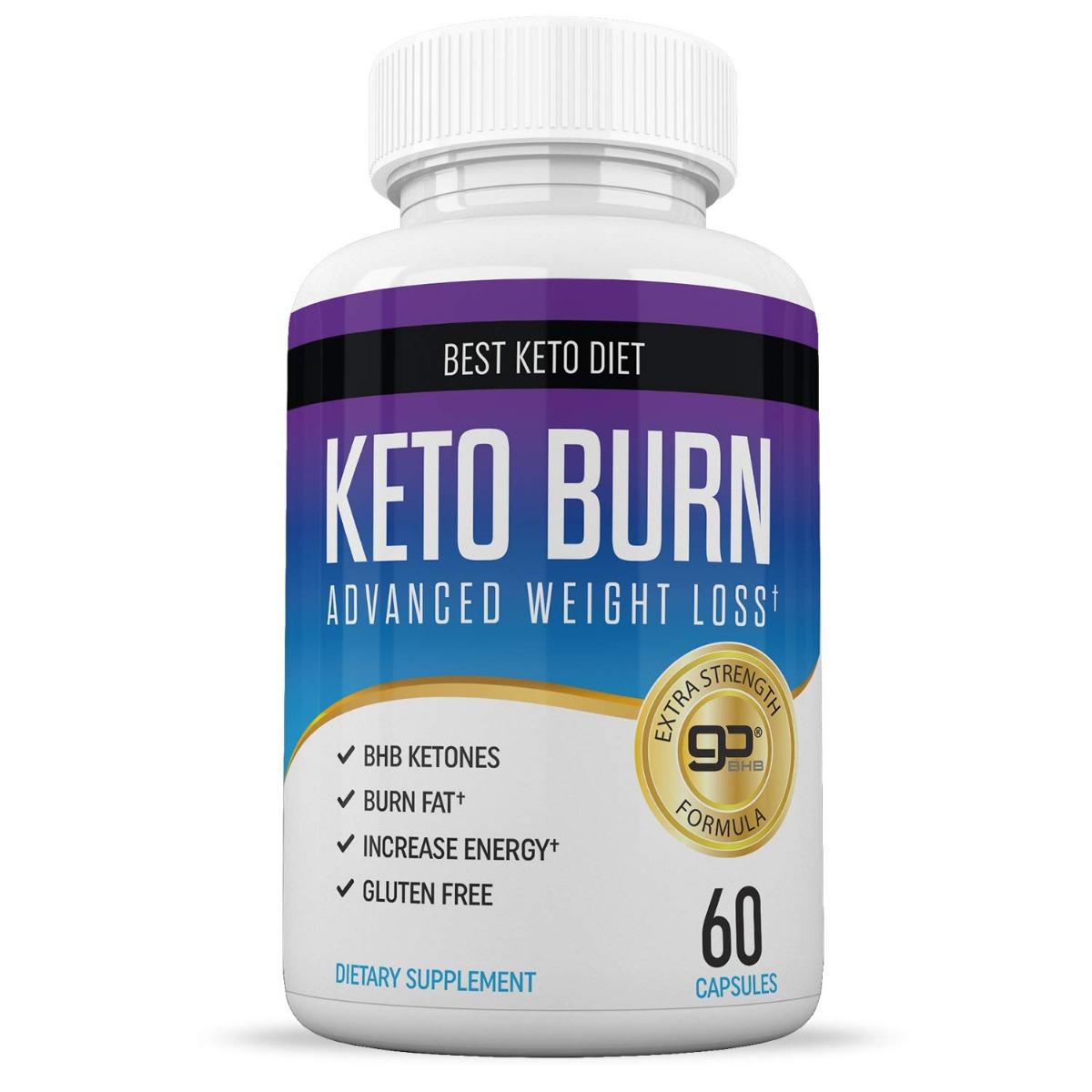 Keto Burn 60 Capsulas Bloqueador Carbos - $ 999.00 en ...