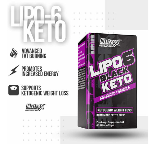 keto lipo 6 black quemador grasa unique store cr