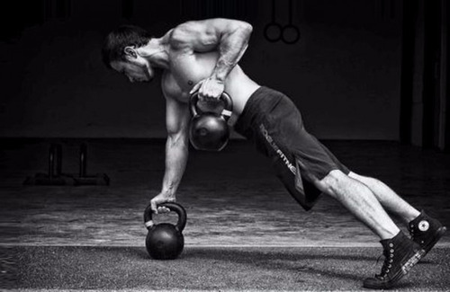kettlebell pesa rusa crossfit 9 kgs funcional hierro fundido