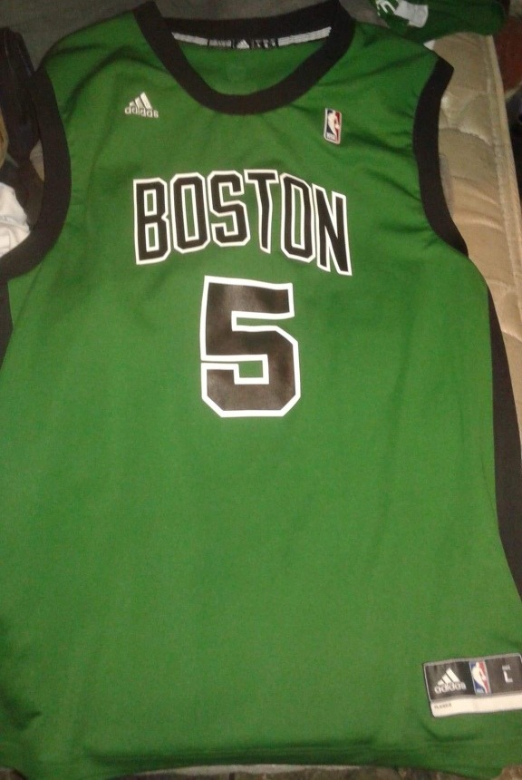 timeless design f2883 b9e70 Kevik Garnett Jersey Original Nba Boston Celtics