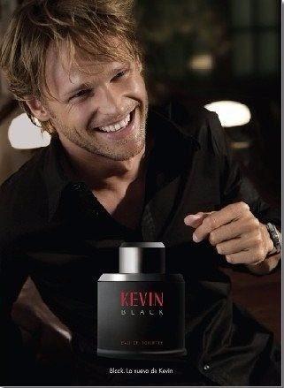 kevin black eau de toillete 100ml + desodorante para hombre