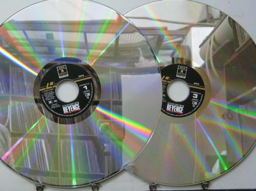 kevin costner - vingança ld (laser disc) duplo - rca 1990