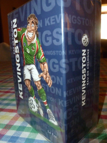 kevingston fútbol agua de colonia x 100 ml