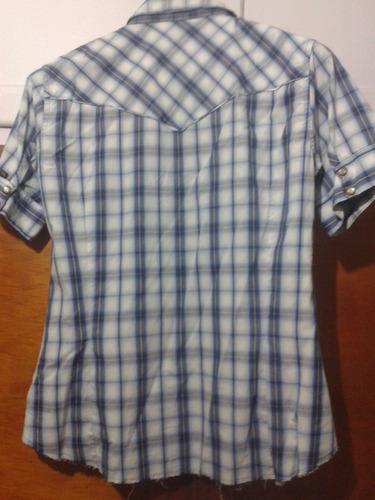 kevingston mujer camisa escocesa original