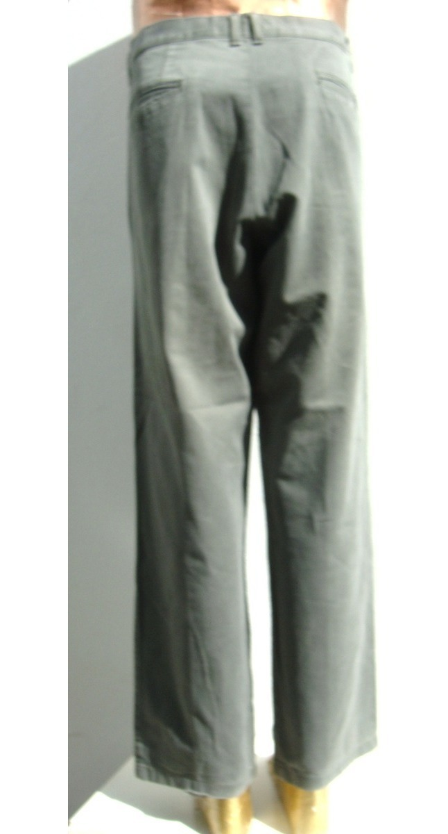 Kevingston Pantalon Hombre T44 Algodon Verde Ana Mar
