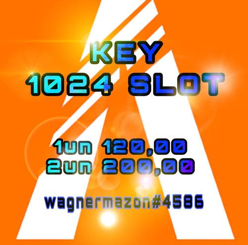 key 1024 slot