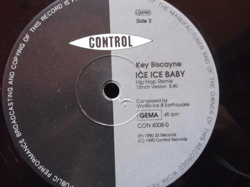 key biscayane- ice ice baby - acetato germany - vanilla ice