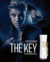 key by justin beiber dama 100ml
