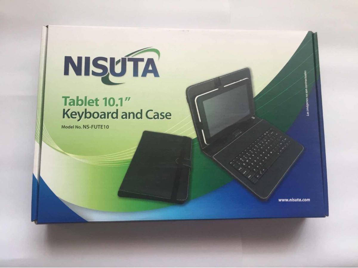 4d35c082b keyboard and case para tablet 10 funda y teclado. nisuta. Cargando zoom.