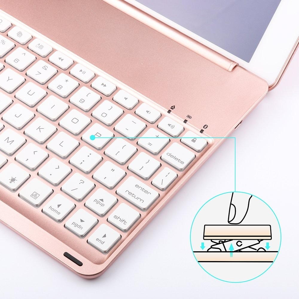 Keyboard Case For iPad 9 7,dingrich Smart iPad Case With Key