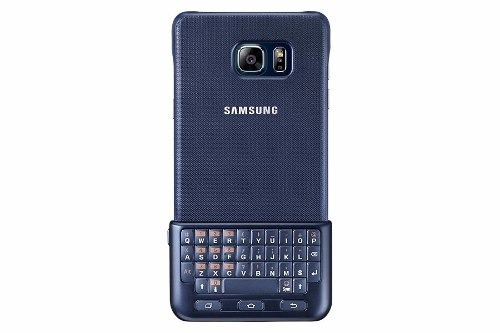 keyboard cover blue black galaxy note 5 original samsung