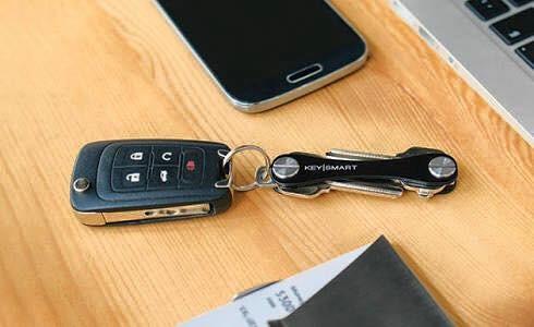keysmart llavero inteligente organizador de llaves compacto