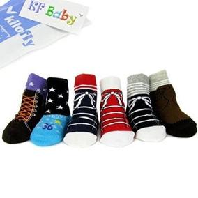 Bebé Zapato Par Del Antideslizante Kf Calcetines 6 Niño DWHE9I2