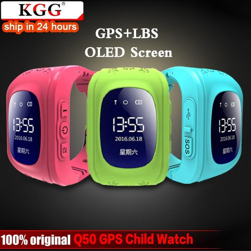 kgg anti perdido q50 oled criança gps tracker sos inteligent