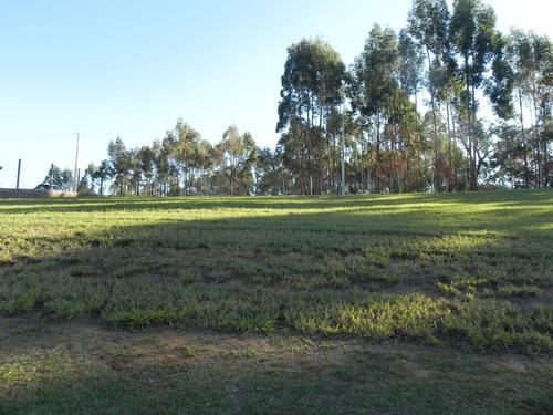 (kh) terreno de 1000m² no condomínio recanto das flores
