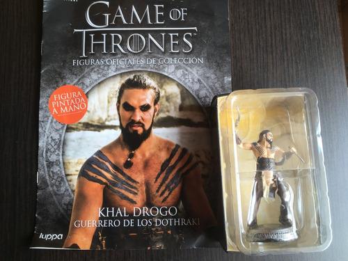 khal drogo - figuras game of thrones pintadas a mano