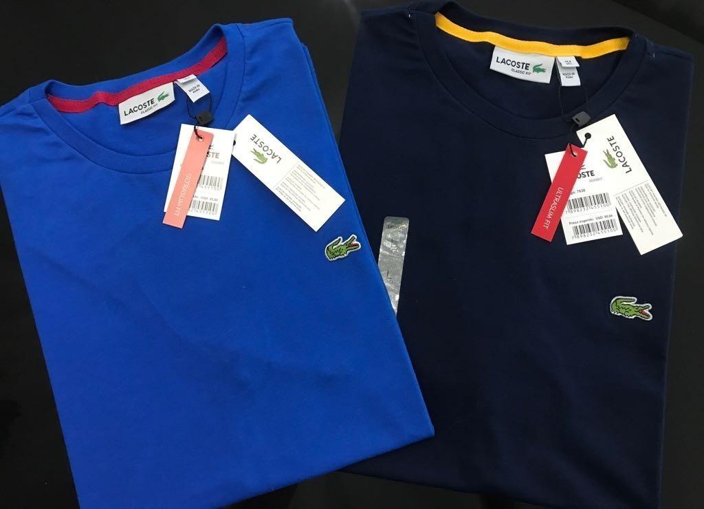 01b307cb71de3 ki 2 camiseta lacoste original importada do peru - peruana. Carregando zoom.