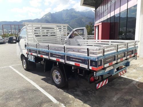 kia bongo 0km  c/ carroceria  madeira 2020