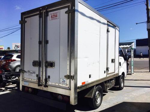 kia bongo 2013 con furgon termico impecable estado