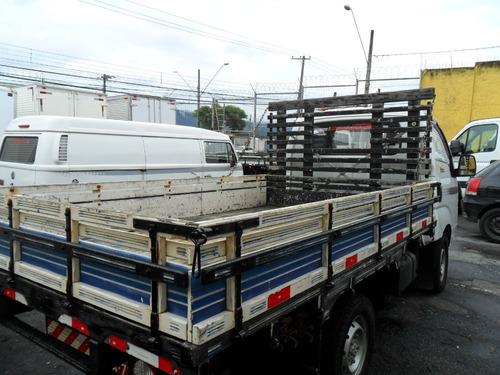 kia bongo 2014 carroceria de madeira