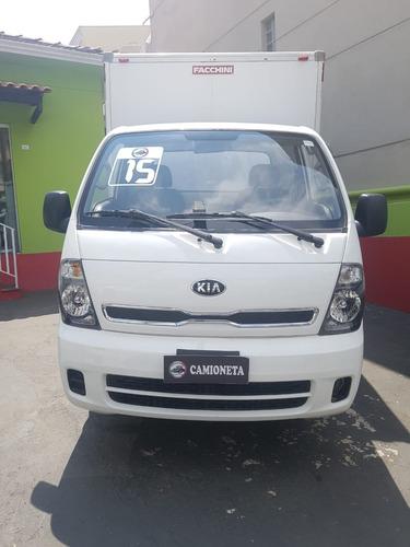 kia bongo 2.5 std 4x2 rs turbo c/ baú 2015