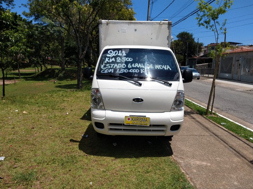 kia bongo 2.5 std 4x2 rs turbo c/ baú