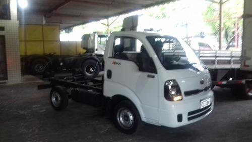 kia bongo 2.5 std 4x2 rs turbo s/ carroceria 2p 2014 novinha