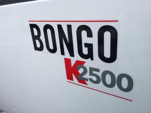 kia bongo 2.5 std 4x2 rs turbo s/ carroceria okm
