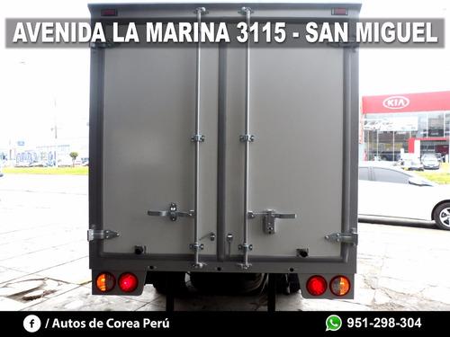 kia bongo furgón frigorífico nuevo, año 2012, glp original.