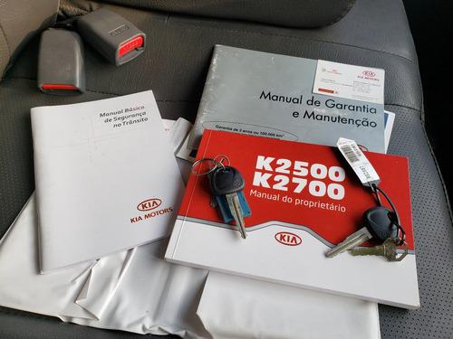 kia bongo k 2500 2011,carroceria,manual e chave copia,nova!!