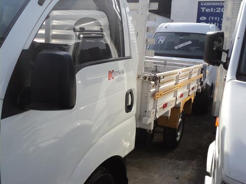 kia bongo k 2500    ano 2014+ carroceria de madeira