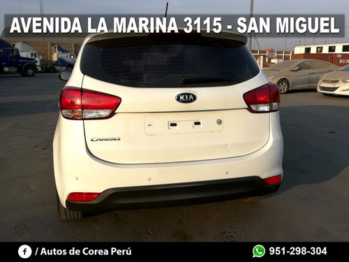kia carens 2014, glp original, full, coreano import. directo