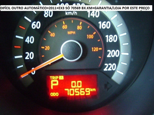 kia cerato 1.6 ex3 automatico 4p 126hp completo baixa km