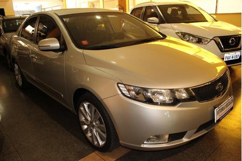 kia cerato 1.6 sx3 automático 2012 2013 prata completo