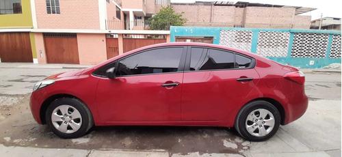 kia cerato 2016 rojo 4 puertas